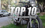 Top 10 Used Motorcycles Under $5000