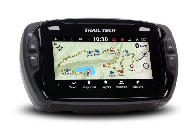 Motorcycle GPS Buyer's Guide - Trail Tech Voyager Pro