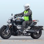new 2020 Triumph Rocket III Spy Photos