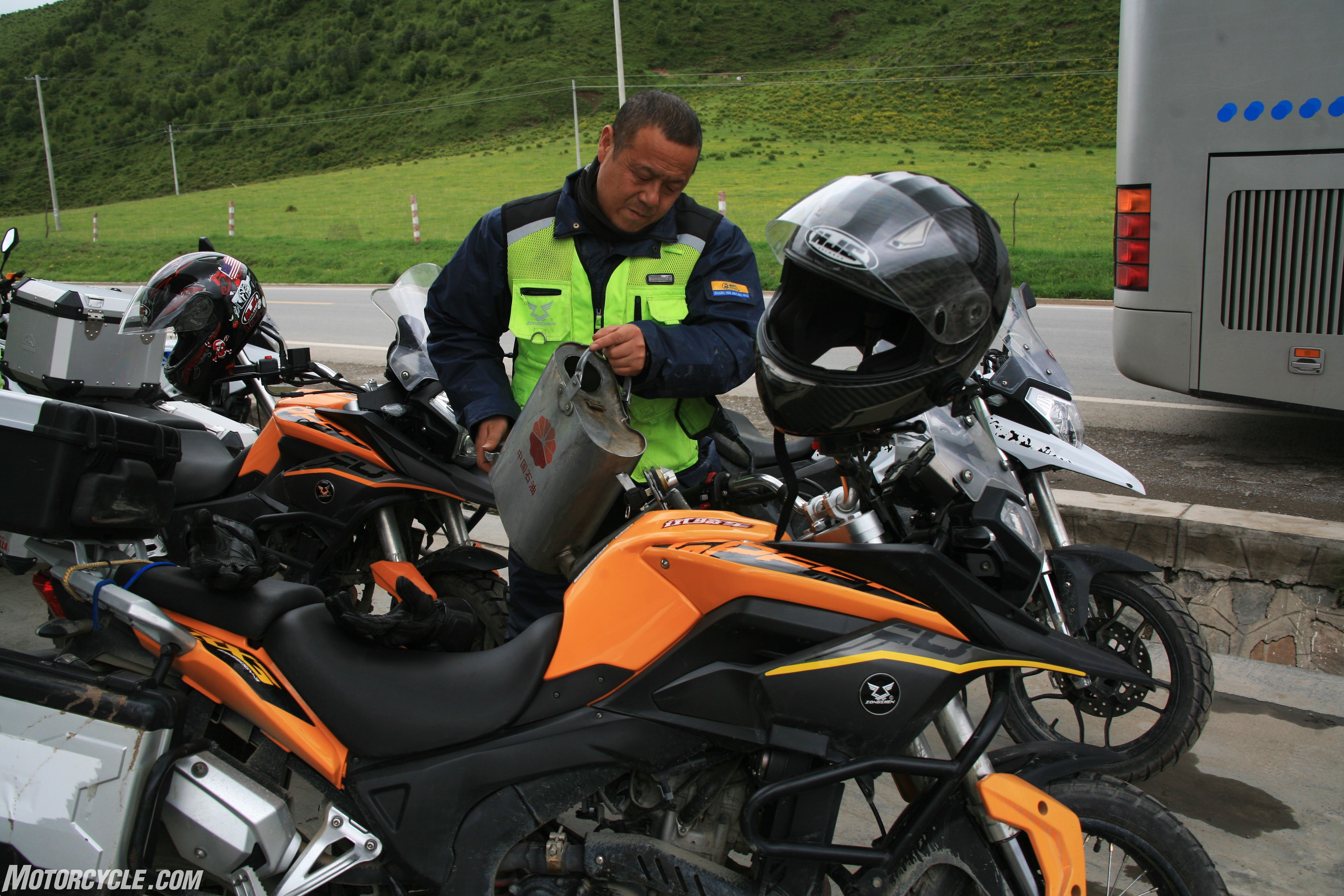 Riding China with Zongshen and the CSC RX3 - Motorcycle com