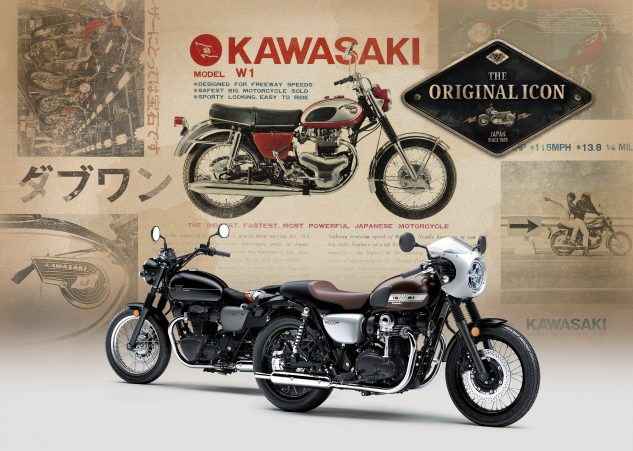 Kawasaki W800 Cafe and Street