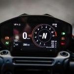 2019 Ducati Hypermotard 950 SP TFT display