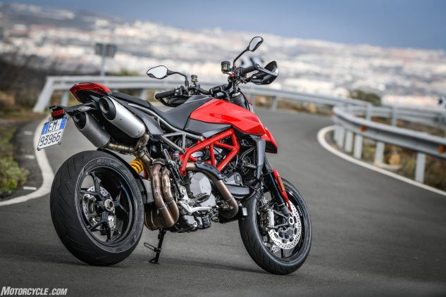2b19d53a56cd 2019 Ducati Hypermotard 950 950 SP First Ride Review - Motorcycle.com