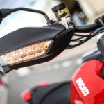 2019 Ducati Hypermotard 950 hand guard turn signals
