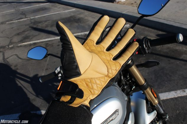 Icon 1000 Axys Gloves Review open palm