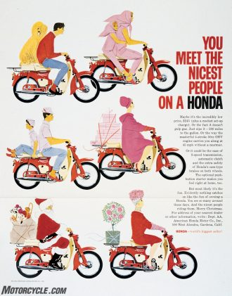 You meet the nciest people on a Honda ad