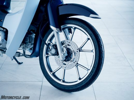 19 Honda Super Cub C125 ABS_front wheel