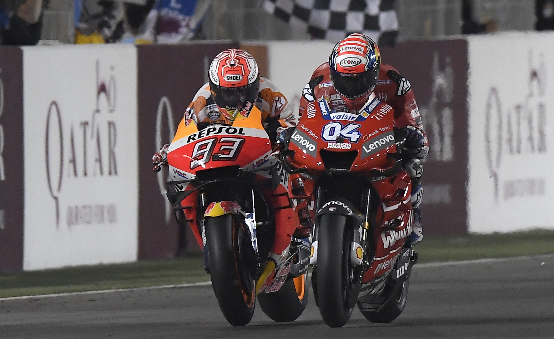 MotoGP Losail Results 2019