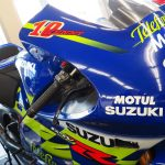 Kenny Roberts Jr. 2002 Suzuki GSV-R race bike