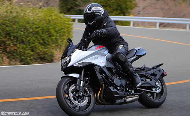 2020 Suzuki Katana Review - Motorcycle com First Ride