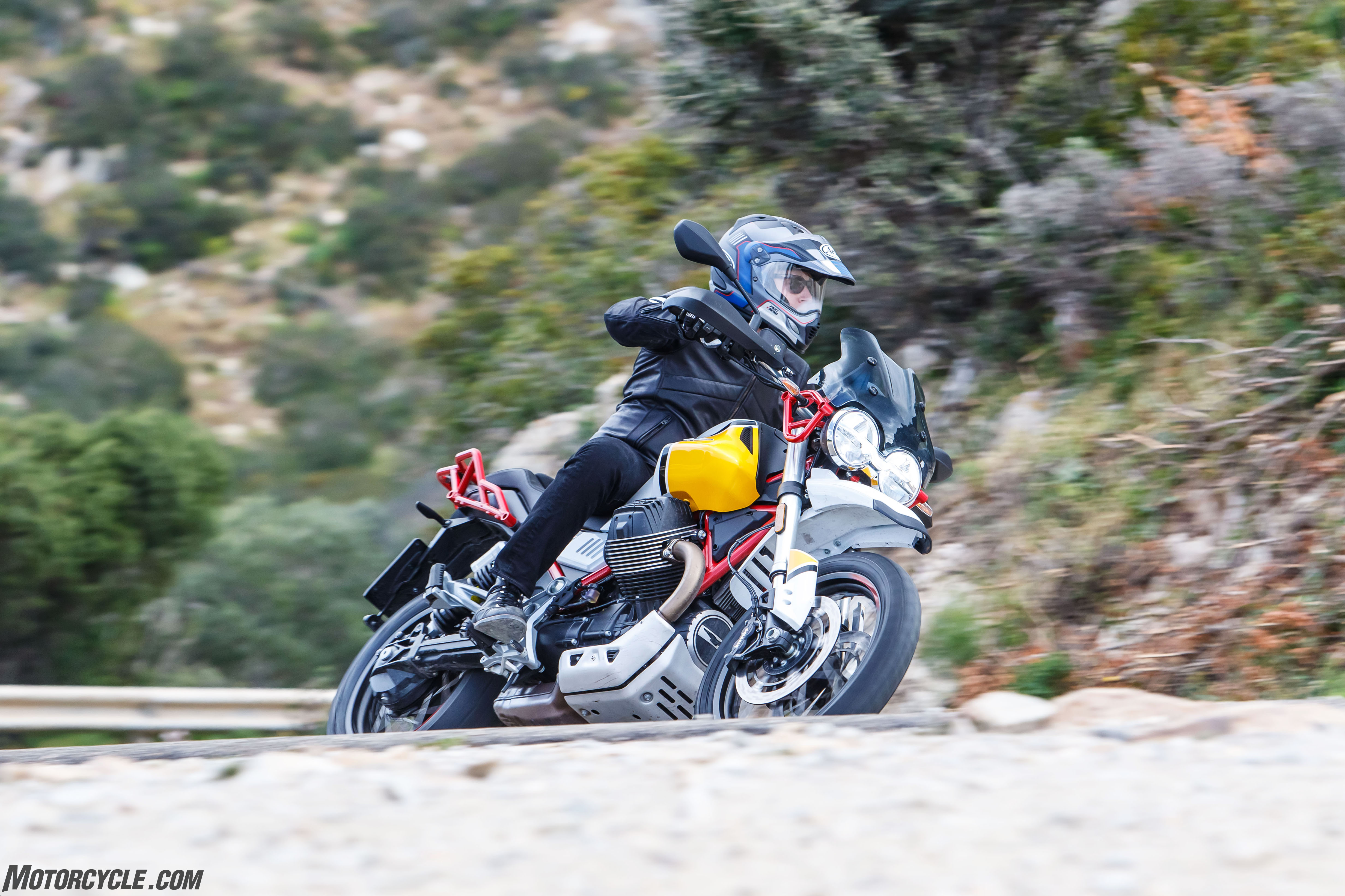 2020 Moto Guzzi V85 TT Review - First Ride - Motorcycle com