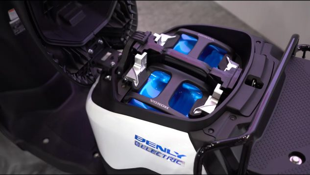 Honda Benly Electric Scooter Battery X on Yamaha Dirt Bike Parts