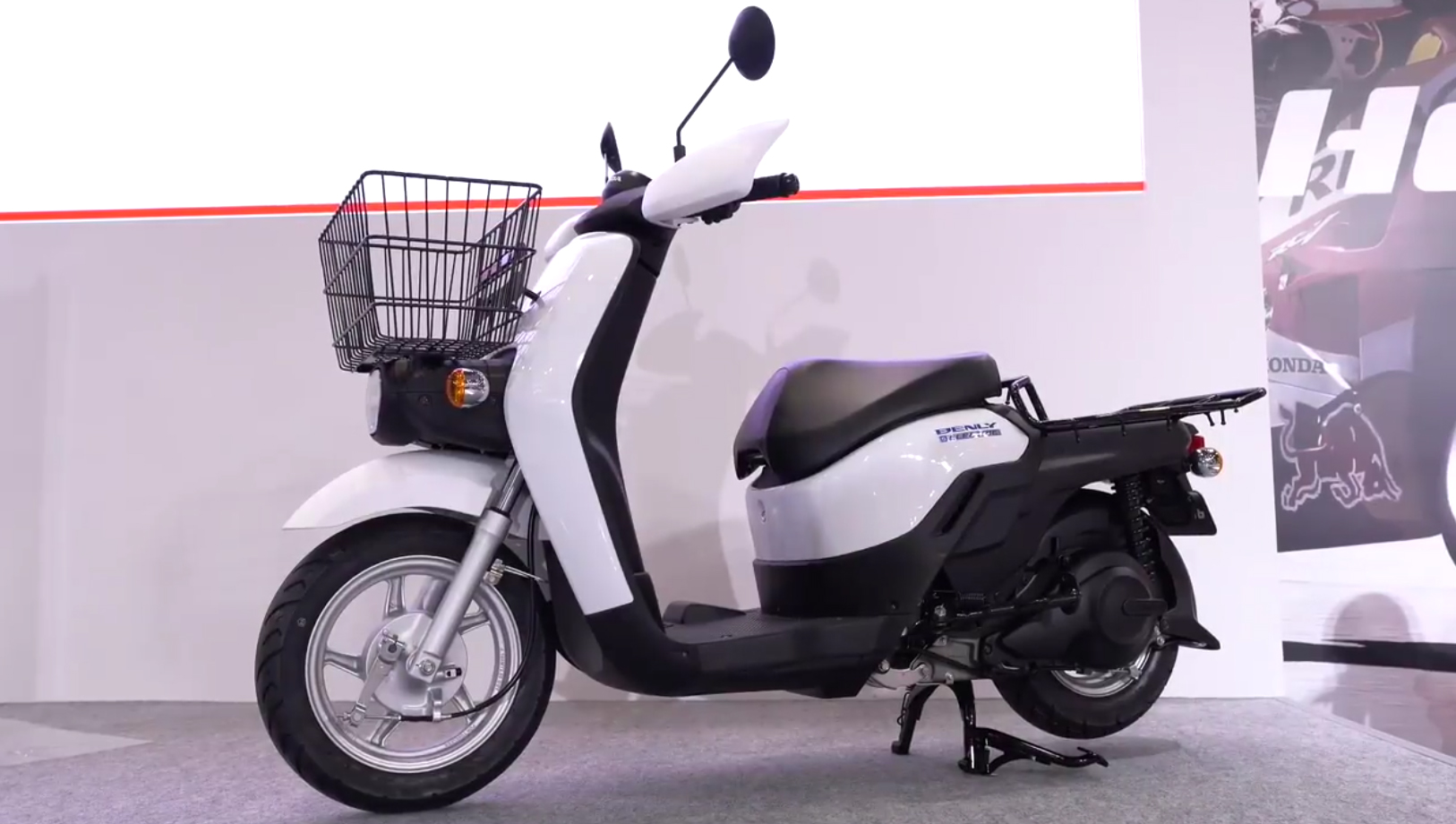 032219 honda benly electric scooter prototype. Black Bedroom Furniture Sets. Home Design Ideas