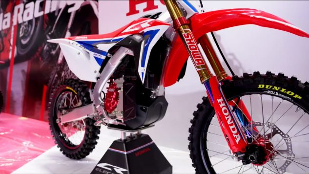 Your daily dose of everything Motorcycle: Honda CR Electric Dirt Bike Prototype Revealed in Tokyo