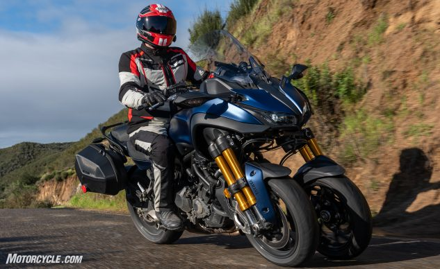 2019 Yamaha Niken Gt Review First Ride Motorcyclecom
