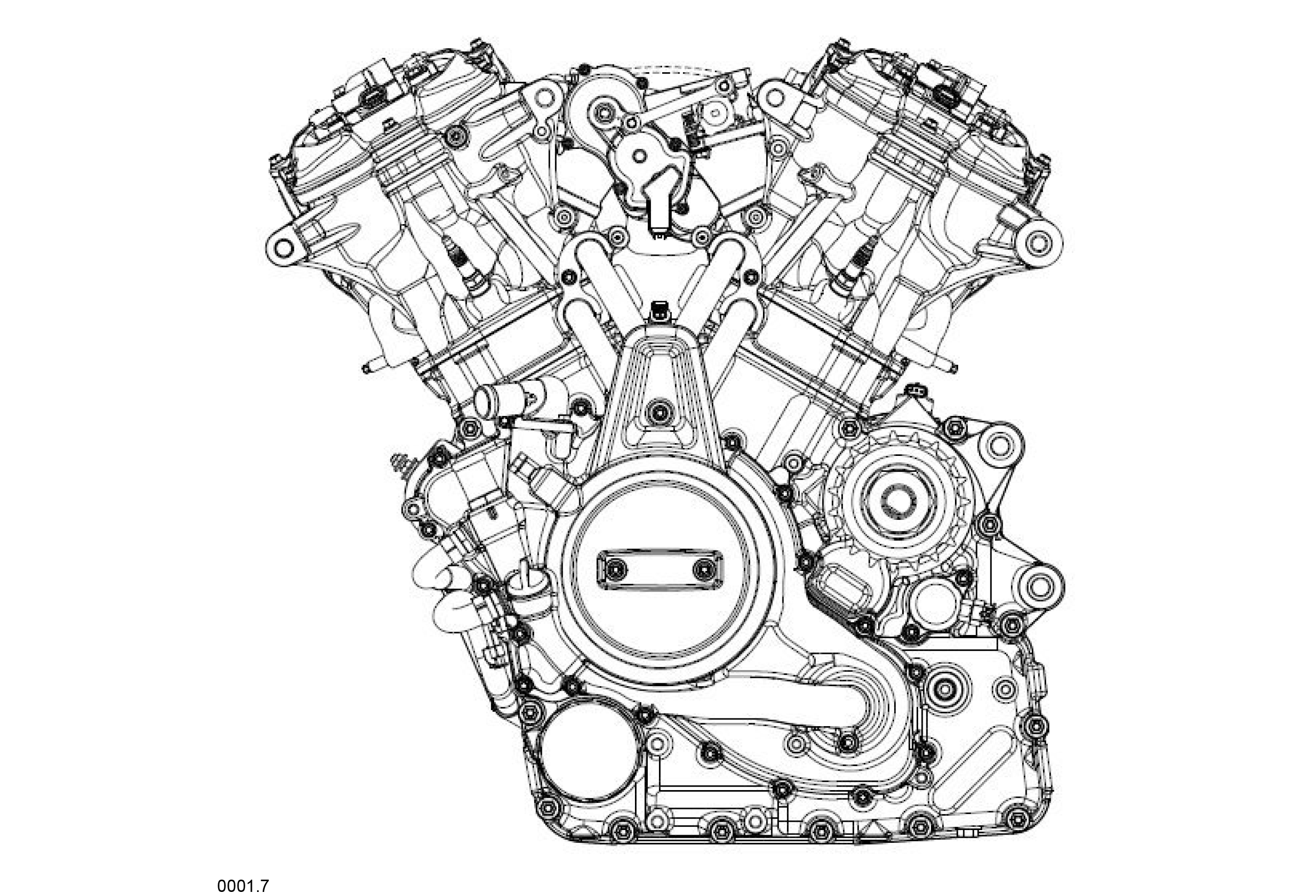new harley-davidson v-twin engine design revealed - motorcycle.com 2004 harley v twin engine diagram smallv twin engine diagram