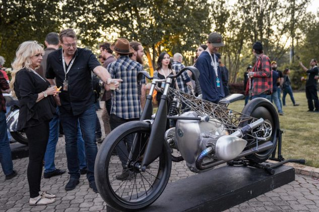 Big boxer BMW Revivial Cycles Birdcage concept