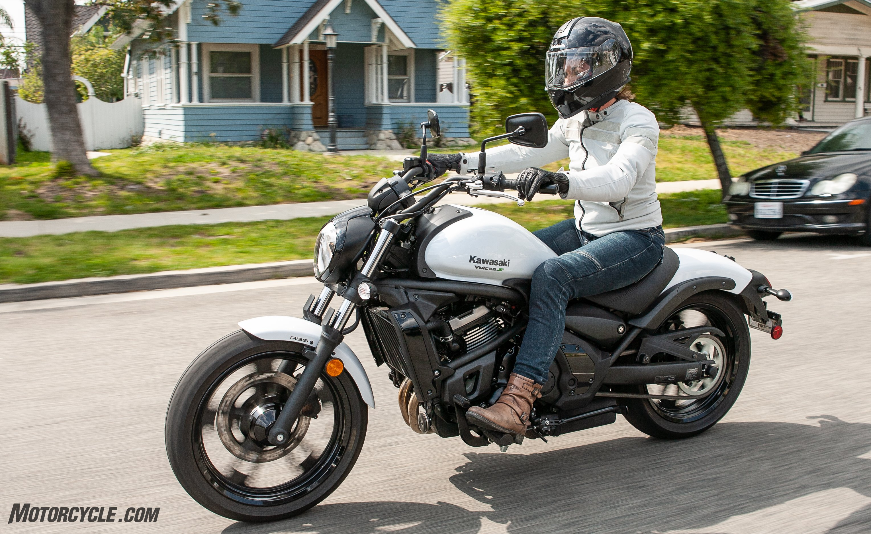 A Shorter Perspective Kawasaki Vulcan S And The Ergo Fit System
