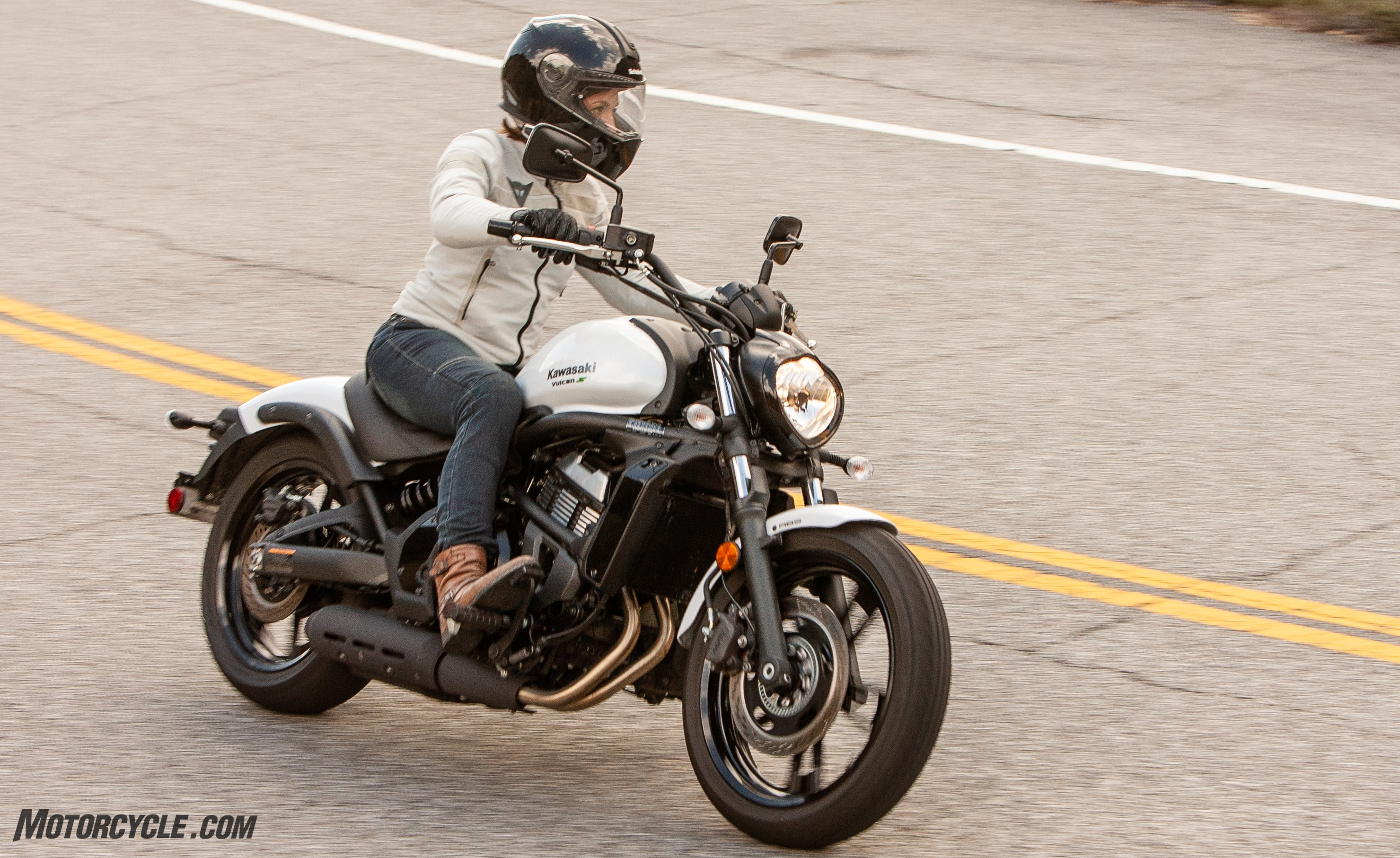 A Shorter Perspective Kawasaki Vulcan S And The Ergo Fit