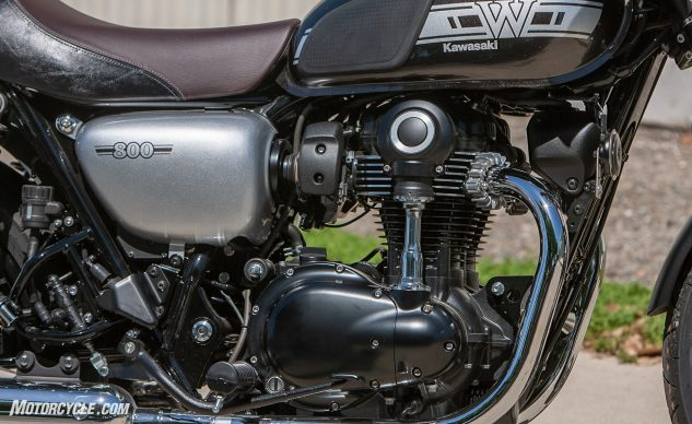 2019 Kawasaki W800 Cafe engine