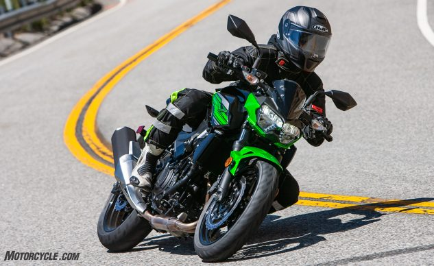 Lightweight Rippers: 2019 KTM 390 Duke vs  2019 Kawasaki Z400