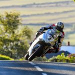 John McGuinness on the Norton in Qualifying. Photo by: Gavin Langford