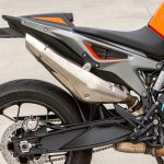 2019 KTM 790 Duke stock exhaust