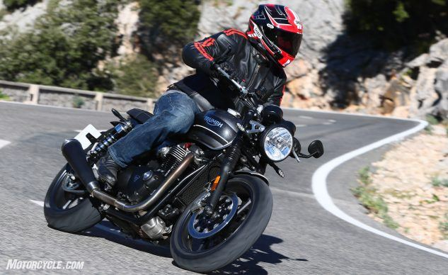 Best Standard Motorcycle of 2019: Triumph Speed Twin