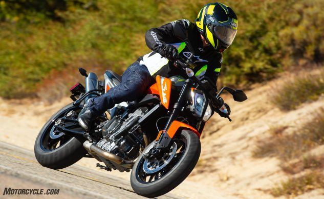 Best Value Motorcycle of 2019 Runner-Up: KTM 790 Duke