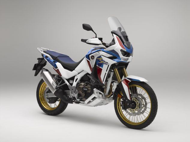 "https://www.motorcycle.com/ ""width ="" 633 ""height ="" 474 ""srcset ="" https://www.motorcycle.com/blog/wp-content/uploads/2019/09/092319-2020- Honda-CRF1100L-Afrique-Jumeaux-Aventure-Sports-SE_RF34-1-633x474.jpg 633w, https://www.motorcycle.com/blog/wp-content/uploads/2019/09/092319-2020-Honda-CRF1100L -Africa-Twin-Adventure-Sports-SE_RF34-1-315x236.jpg 315w, https://www.motorcycle.com/blog/wp-content/uploads/2019/09/092319-2020-Honda-CRF1100L-Africa- Twin-Adventure-Sports-SE_RF34-1-768x575.jpg 768w, https://www.motorcycle.com/blog/wp-content/uploads/2019/09/091919-2020-Honda-CRF1100L-Africa-Twin-Aventure -Sports-SE_RF34-1-61x46.jpg 61w, https://www.motorcycle.com/blog/wp-content/uploads/2019/09/091919-2020-Honda-CRF1100L-Africa-Twin-Adventure-Sports- SE_RF34-1-120x90.jpg 120w, https://www.motorcycle.com/blog/wp-content/uploads/2019/09/092319-2020-Honda-CRF1100L-Africa-Twin-Adventure-Sports-SE_RF34-1 -124x93.jpg 124w, https://www.motorcycle.com/blog/wp-content/uploads/2019/09/092319-2020-Honda-CRF1100L -Africa-Twin-Adventure-Sports-SE_RF34-1-186x139.jpg 186w, https://www.motorcycle.com/blog/wp-content/uploads/2019/09/09191919-2020-Honda-CRF1100L-Africa- Twin-Adventure-Sports-SE_RF34-1-171x128.jpg 171w, https://www.motorcycle.com/blog/wp-content/uploads/2019/09/092319-2020-Honda-CRF1100L-Africa-Twin-Aventure -Sports-SE_RF34-1-183x137.jpg 183w, https://www.motorcycle.com/blog/wp-content/uploads/2019/09/091919-2020-Honda-CRF1100L-Africa-Twin-Adventure-Sports- SE_RF34-1-220x165.jpg 220w, https://www.motorcycle.com/blog/wp-content/uploads/2019/09/092319-2020-Honda-CRF1100L-Africa-Twin-Adventure-Sports-SE_RF34-1 -334x250.jpg 334w, https://www.motorcycle.com/blog/wp-content/uploads/2019/09/092319-2020-Honda-CRF1100L-Africa-Twin-Adventure-Sports-SE_RF34-1-518x388. jpg 518w, https://www.motorcycle.com/blog/wp-content/uploads/2019/09/092319-2020-Honda-CRF1100L-Africa-Twin-Adventure-Sports-SE_RF34-1-562x421.jpg 562w "" tailles = ""(largeur maximale: 633px) 100vw, 633px"" />  <p class="