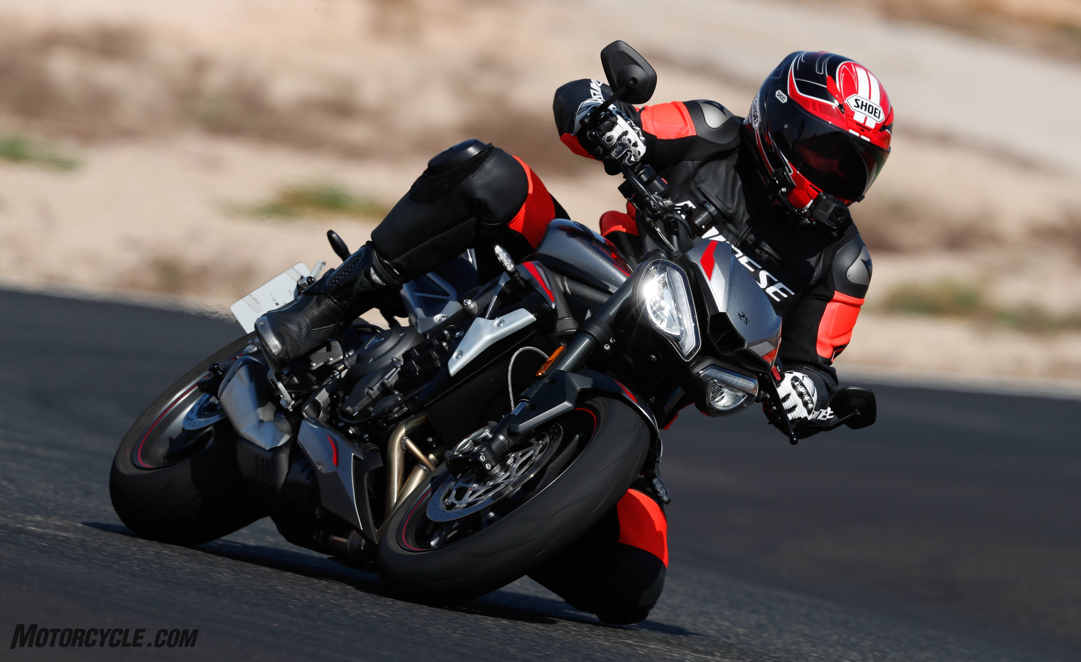 2020 Triumph Street Triple 765 RS Review - First Ride