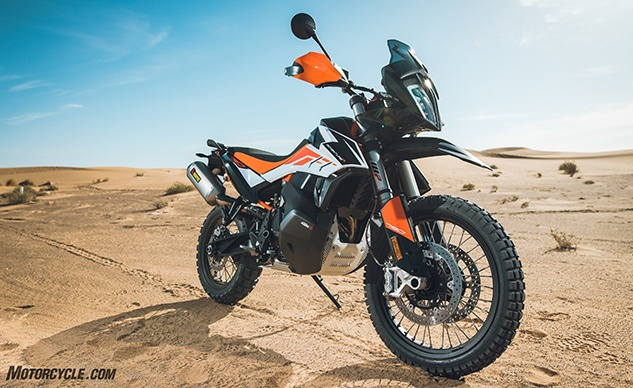 2019 KTM 790 Adventure Video Review - Motorcycle.com
