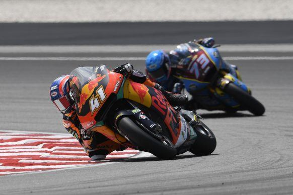 319465_Brad Binder KTM Moto2 Sepang International Circuit 2019