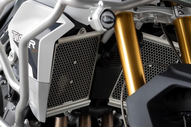 2020 Triumph Tiger 900 split radiators