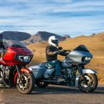Bagger Battle Harley-Davidson Road Glide Indian Challenger