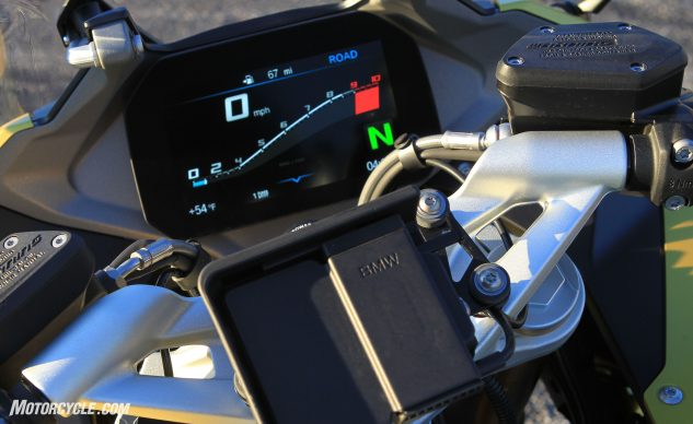 2020 BMW R1250RS tft