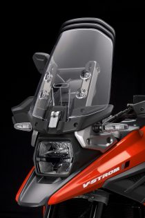 2020 Suzuki V-Strom 1050 headlight and windscreen adjustment