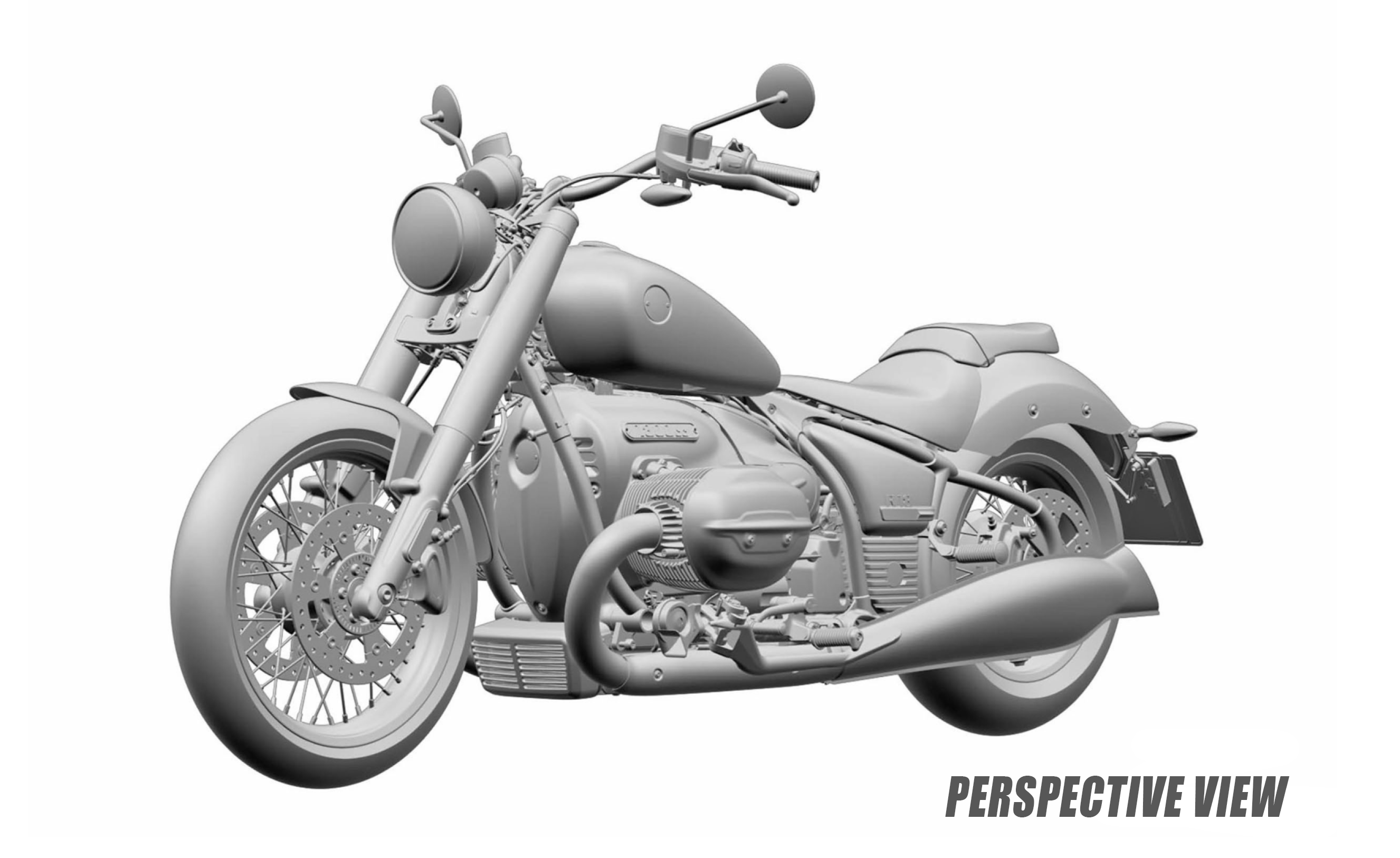 2021 Bmw R18 Cruiser And Bagger Designs Leak Motorcycle Com