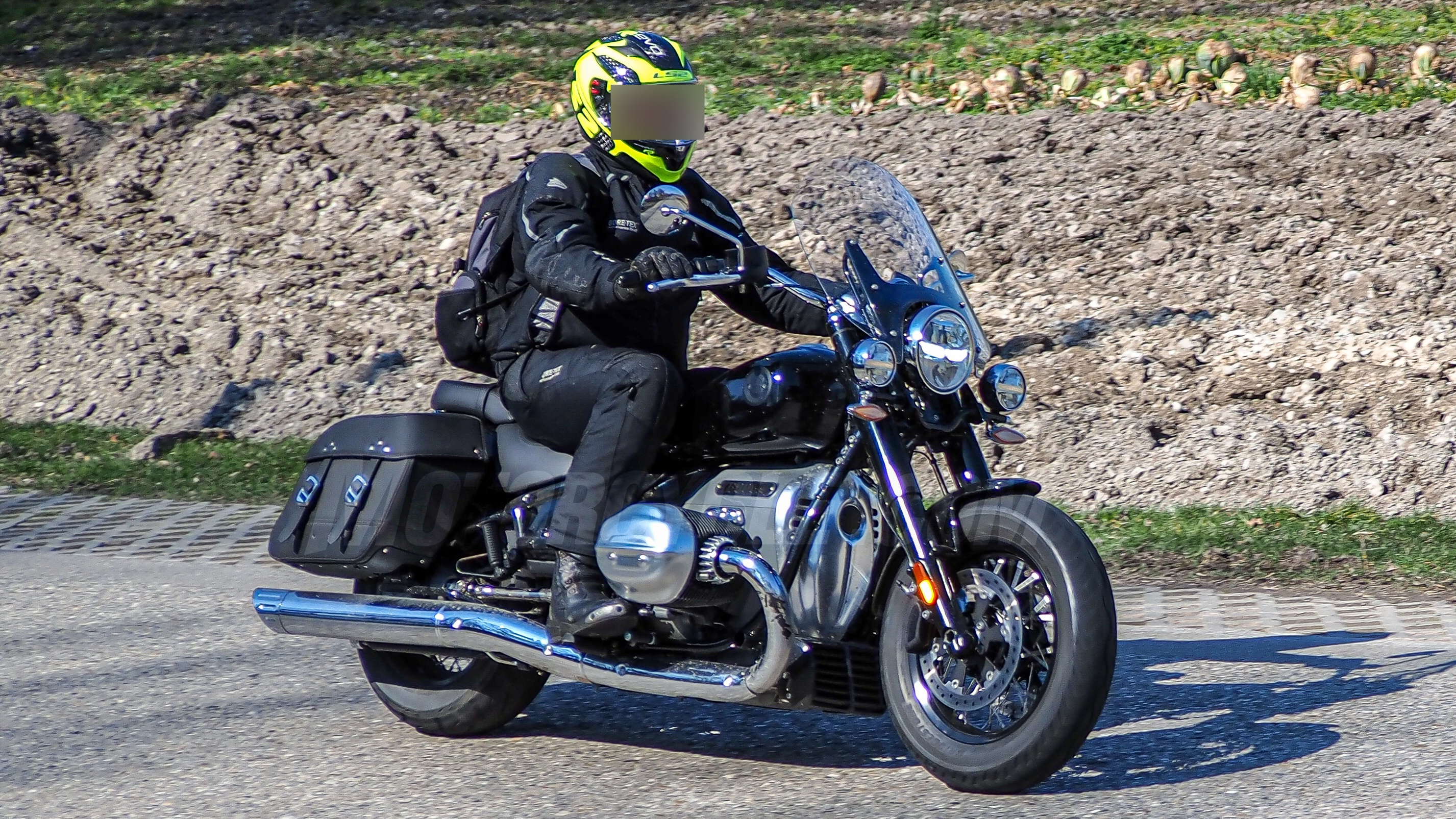 2021 Bmw R18 Touring Version Spied Motorcycle Com