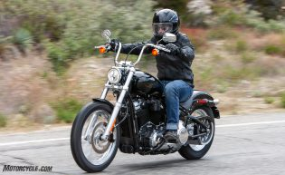 2020 Harley-Davidson Softail Standard action front left