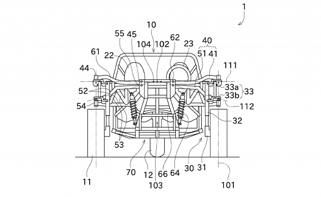 052720-Kawasaki-three-wheeler-patent-fig-2