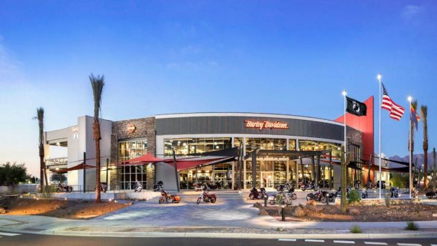 Harley-Davidson of Scottsdale bills itself as the world's biggest.
