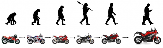 Silhouette Theory of Evolution by Uncle Leo/Shutterstock.com