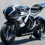 Track-only 2021 CBR600RR with HRC parts.