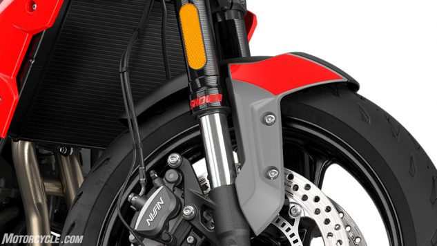 Trident – Front Mudguard