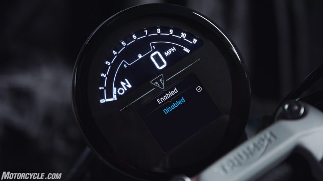 Trident – Instruments (traction control)