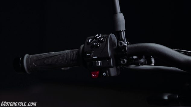 Trident – LH Grip and Switch Cube Rear