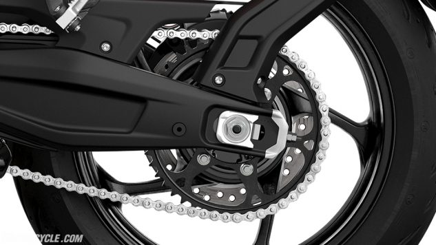 Trident – Rear Sprocket and Chain