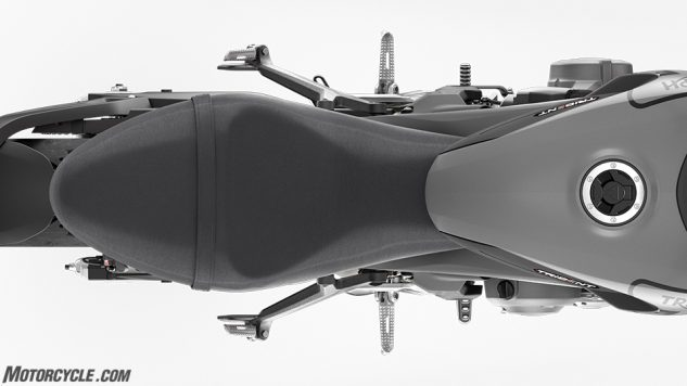 Trident – Seat Top View-2