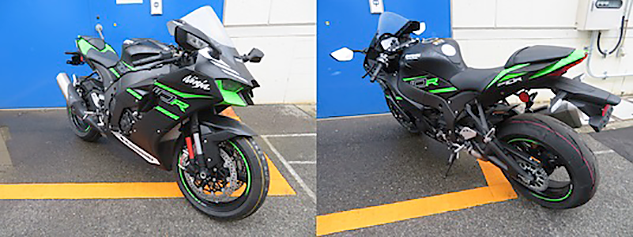 The 2021 Kawasaki Ninja ZX-10R